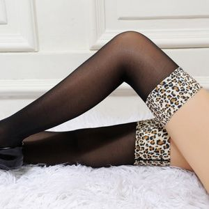Miss Babydoll Accessories - ❤️NEW Sexy Leopard Stockings #S4112